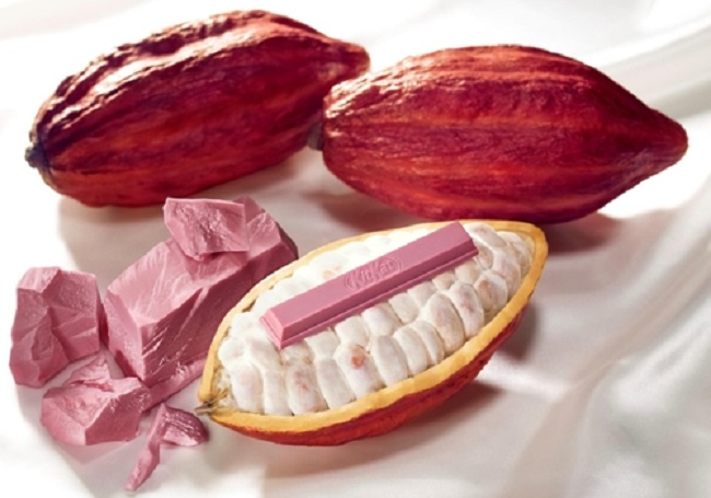 KitKat Japan launches world's first naturally pink, fruity 'ruby' chocolate