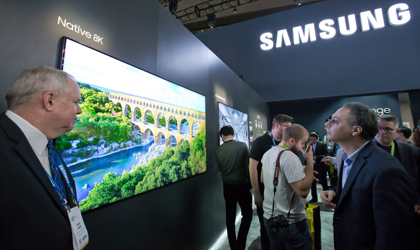 Samsung's 146-inch 'The Wall' modular MicroLED TV announced