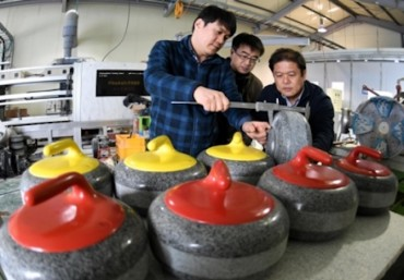 S. Korea's Curling Stone Manufacturer Gains Exposure