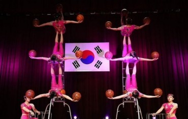 AI Robot Arms Join Hands with S. Korea's Oldest Circus