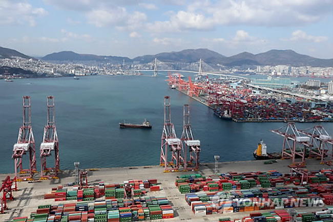 S. Korea's Seaport Cargo Volume Down 7.6 Pct in Jan.