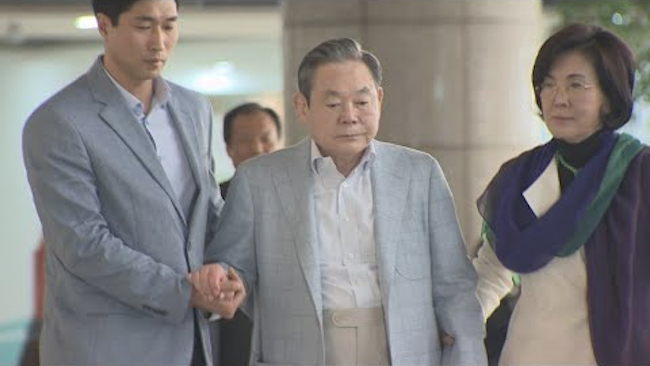 Samsung Chief Lee Booked for Suspected Tax Evasion: Police