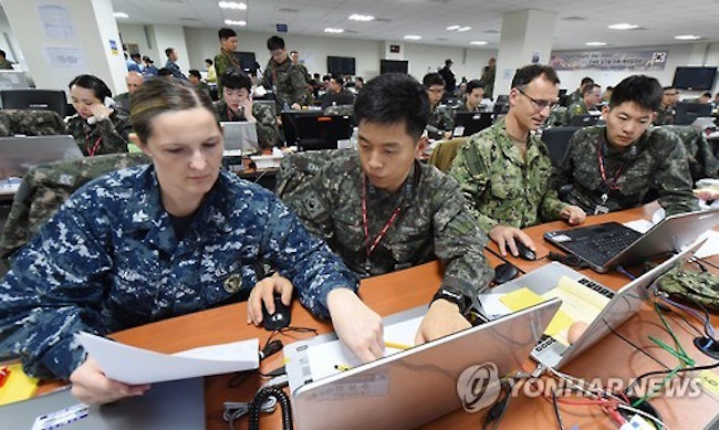 The allies will hold the Key Resolve (KR) and the Ulchi Freedom Guardian (UFG) exercises in order to develop their so-called 4D Operational Concept to detect, disrupt, destroy and defend against North Korean missile threats, the Ministry of National Defense said in a report to the National Assembly. (Image: Yonhap)