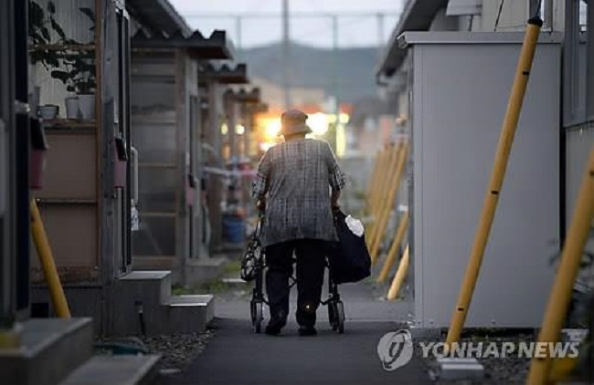 "Busan's Yeonje District announced on February 5 that it will distribute LED sensor lights in the homes of residents who may be at risk of ""lonely death"". (Image: Yonhap)"