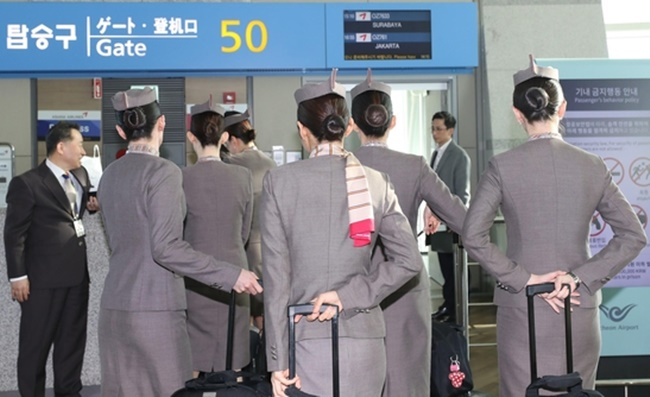 In the midst of the latest sexual harassment allegations in South Korea promoted by the international #MeToo movement is Park Sam-koo, who heads the aviation giant Kumho Asiana Group, as an online post alleging Park's inappropriate behavior around female flight attendants has gone viral. (Image: Yonhap)