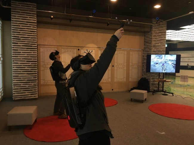 The city of Jeonju will open a virtual reality experience zone at the Korea Traditional Culture Center for local residents and tourists next month. (Image: Jeonju City)
