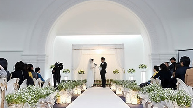 Taepyeong Hall, a venue within Seoul Citizens Hall, is located on the second basement level, and will be open for private wedding ceremonies every Saturday and Sunday during the second week of each month for four hours between June and December. (Image: Seoul Metropolitan Government)