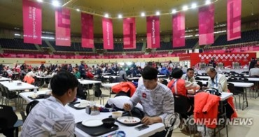 Athletes' Village Dining Hall Satisfies Appetites From All Continents