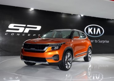 Kia Unveils New Compact SUV in India