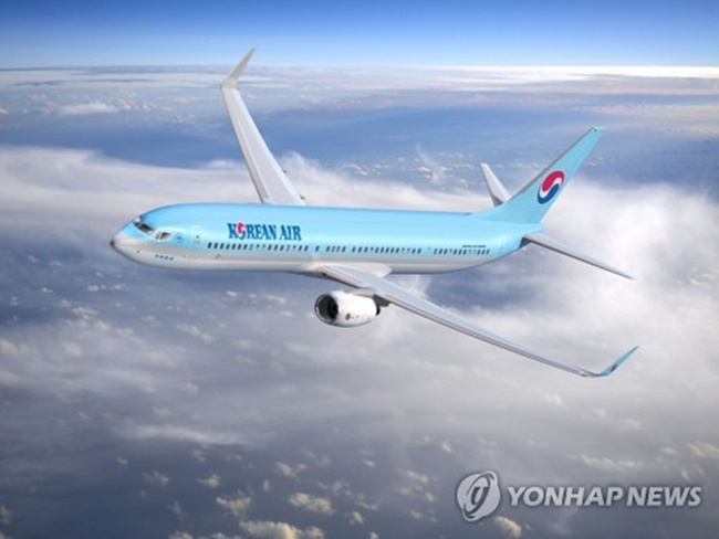 The net result was attributable to the company's route diversification, meant to reduce the impact of declining number of travelers to and from China triggered by a diplomatic row, and rise in delivery of high-end semiconductors, the statement said. (Image: Yonhap)