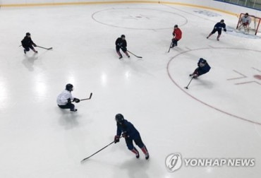 3 N. Koreans Dress for Joint Hockey Team's 2nd Game