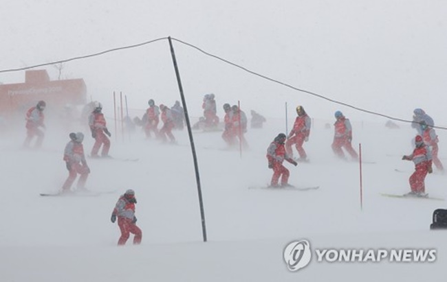 Women's Alpine Combined Event Rescheduled Due to Adverse Weather Forecast