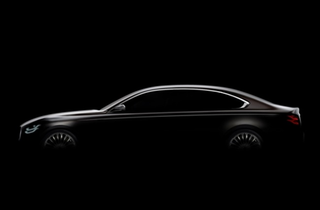 Kia Unveils Teaser Image of K9 Flagship Sedan
