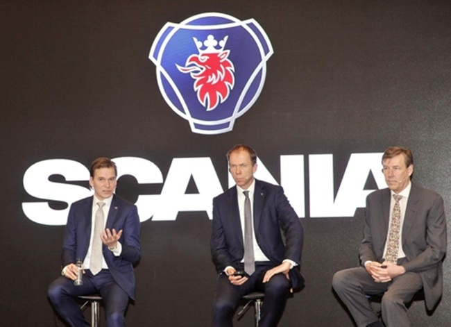 Scania Unveils All-New Truck Model in S. Korea