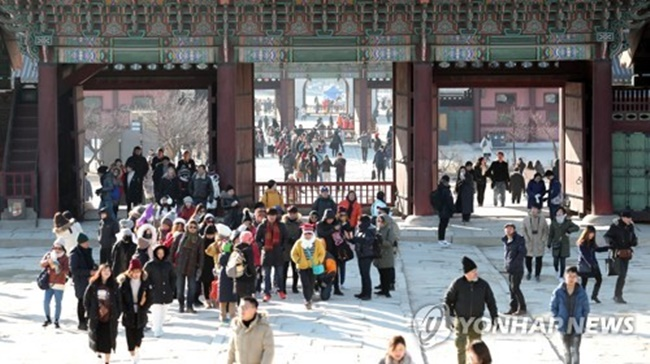 No. of Chinese Visitors Continues to Slide in January