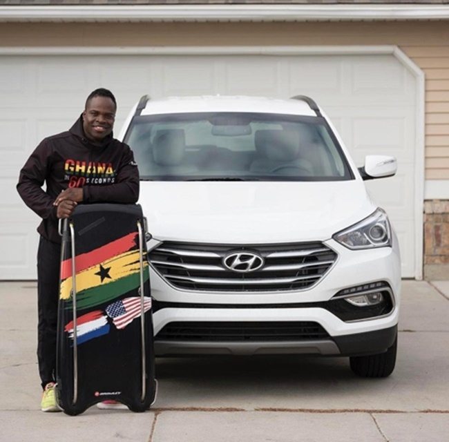 The Ghanaian Olympic team will compete at the upcoming Winter Olympics in PyeongChang despite financial problems, thanks to support from a Ghana-based South Korean company.(Image: Instagram)