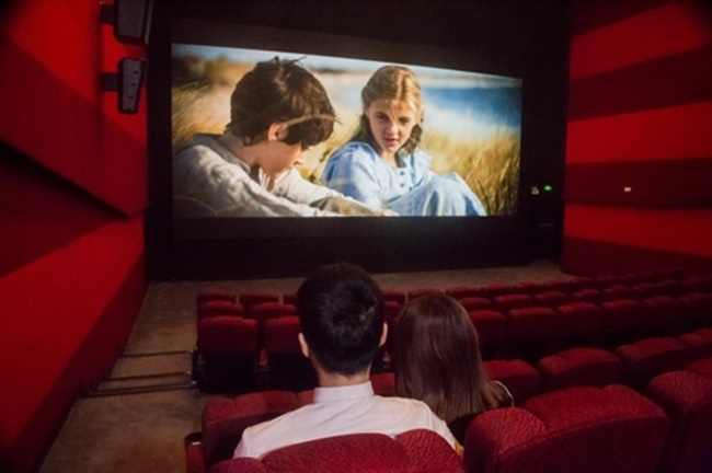 Samsung debuted an LED theater display for Chinese moviegoers in Shanghai on Sunday. (Image: Samsung Electronics)