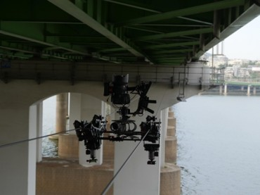 Remote-controlled Cameras to Check Blind Spots at Han River