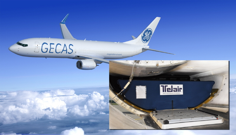 GECAS to offer Telair's new Flexible Loading System to GECAS' 737-800 freighter conversion customers on aircraft entering service this year. (image: Telair International)