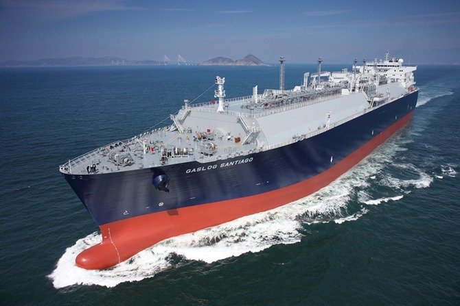 LNG carrier (image: Samsung Heavy Industries)