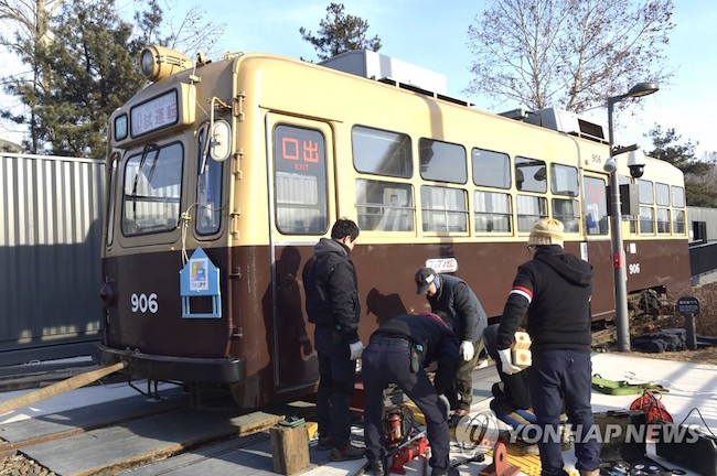 Talks of bringing trams, retired in November of 1968, have begun in earnest. (Image: Yonhap)