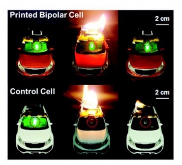 S. Korean Researchers Create Bendable, Fire-Proof Lithium-ion Battery