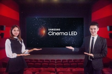 Samsung Opens First LED Cinema Screen in China