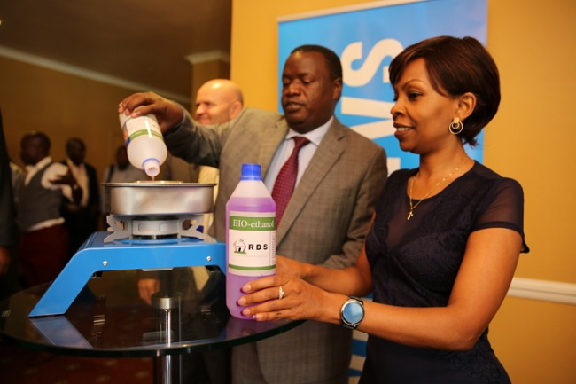 The company has pointed out that using bioethanol as fuel can generate fire six times hotter than using charcoal, one of the key fuels used for cooking in Kenya. (Image: Samsung Electronics Newsroom)