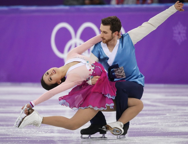 Finishing 18th out of 20 ice dance teams, the highest ranking to date by South Koreans, ice dance pair Min Yura and Alexander Gamelin have become some of the most beloved athletes representing the country. (Image: Yonhap)