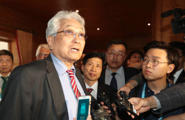 The language of European football is not only universal, but apolitical, if the word of Jang Woong, North Korean delegate to the International Olympic Committee is to be believed. (Image: Yonhap)