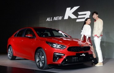 Kia Aims to Sell 150,000 K3 Units Globally This Year