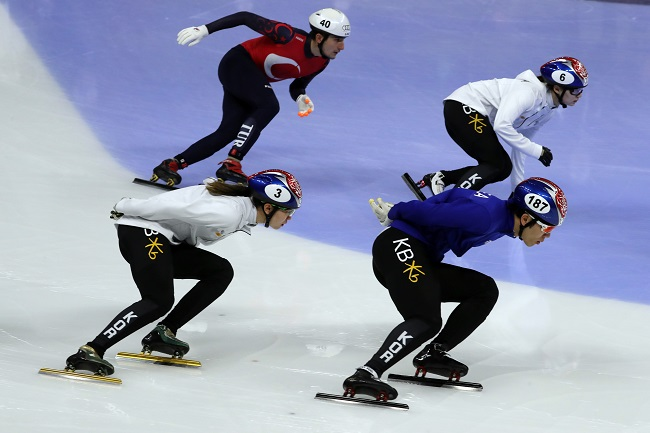 Among the Winter Olympic categories watched on YouTube, no country watches speed skating competitions more than South Koreans, the streaming service has revealed. (Image: Yonhap)