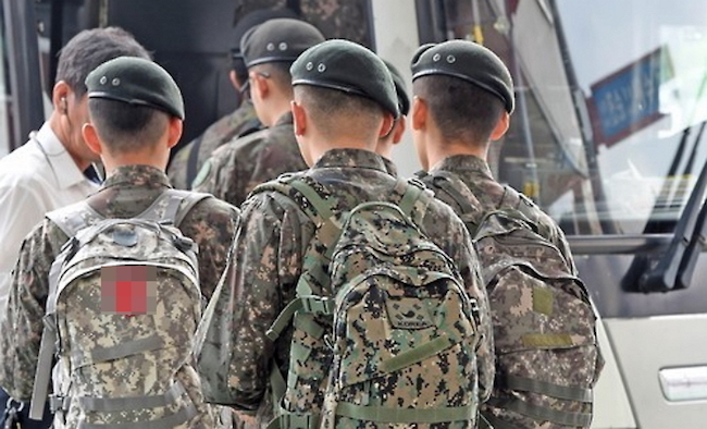 "An individual working for a sexual violence relief organization said, ""Cases of sexual assault against men mainly occur within imbalanced power relationships of superior and subordinate in the military, all-male schools and physical education programs, environments where there are lots of men."" (Image: Yonhap)"