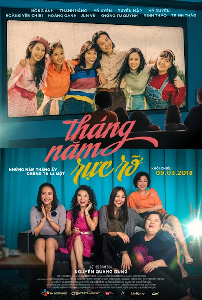 "Recent media reports stated that ""Go Go Sisters"", a Vietnamese adaptation of the 2011 South Korean coming-of-age blockbuster ""Sunny"", took pole position at Vietnam's box office in the first weekend after its release. (Image: CJ E&M)"