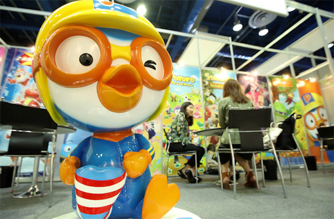 "As per YouTube, the sixth most popular video last year was the 10th anniversary movie of animated character Pororo the Little Penguin, a long-time favorite of young children dubbed ""the children's president"". (Image: Yonhap)"