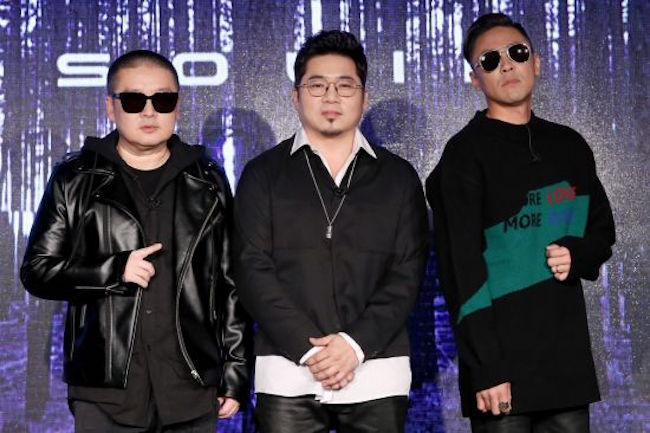 Popular '90s R&B trio Solid returned with a brand new album on Wednesday, seeking to reclaim its past glory after remaining dormant for 21 years. (Image: Yonhap)