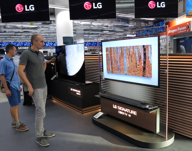 LG Says OLED Models Set to Take Up 20 Pct of TV Sales in 2018