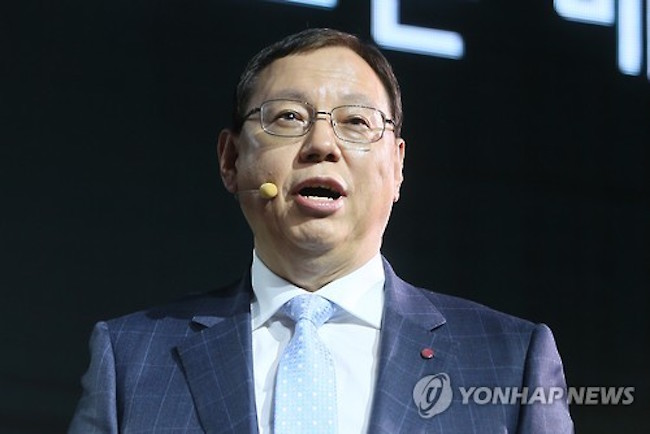 LG Electronics Inc. said Friday that its board of directors decided to keep incumbent CEO Jo Seong-jin in his post for another three years. (Image: Yonhap)