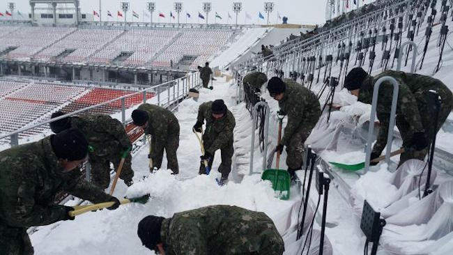 South Korea's Military the Hidden Help Behind Success of PyeongChang Paralympics