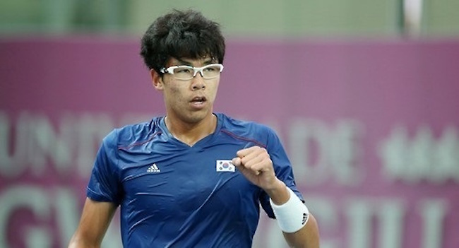 S. Korean Chung Hyeon Becomes Top-Ranked Asian on ATP Tour
