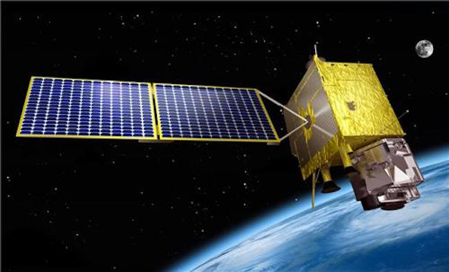 Picture of Chollian satellite (Image: Yonhap)
