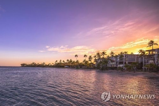 Hawaii was the most popular destination for honeymooners last year, trailed by the Thai resort island of Phuket, a travel agency said Monday. (Image: Yonhap)