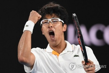 S. Korean Chung Hyeon Suffers Hard-Fought Loss to Federer in ATP Tour Quarterfinals