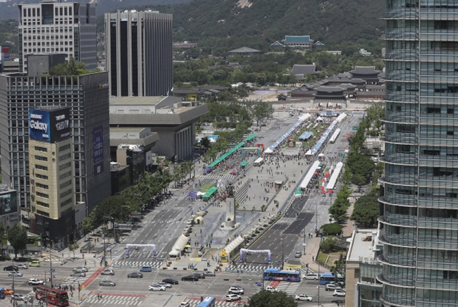 In an effort to designate 16.7 square kilometers of land in Seoul as a special green road promotion area, Seoul government officials submitted the blueprints for the project to the Ministry of Land, Infrastructure and Transport earlier this week and are now awaiting approval. (Image: Yonhap)