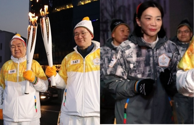 Cho made her first high-profile public appearance earlier this year after the scandal, running alongside her father at the torch relay for the PyeongChang Olympics, representing Korean Air which was an official partner of this year's Winter Games. (Image: Yonhap)