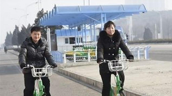 Bike Sharing Service is All the Rage in Pyeongyang
