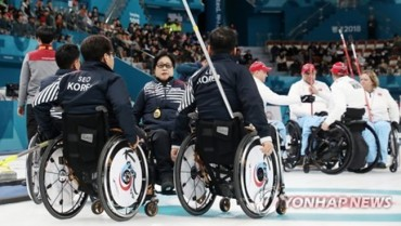 S. Korean Wheelchair Curling Team Suffers 2nd Loss at PyeongChang Paralympics