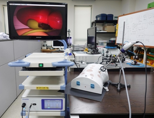 The Korea Electrotechnology Research Institute (KERI) said it has developed a technology that can target tumor cells and it is in the process of transferring the related knowhow to a local company. (Image: KERI)