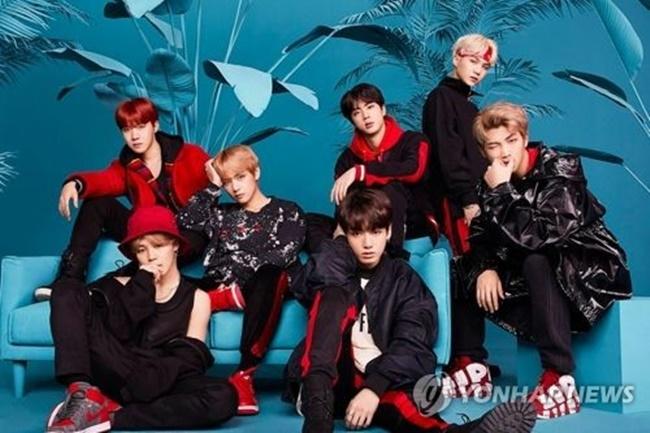A file publicity photo of K-pop act BTS (Image: Big Hit Entertainment)