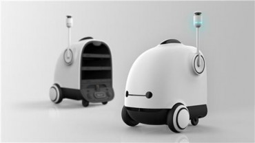 Startup Develops Food Delivery Robot